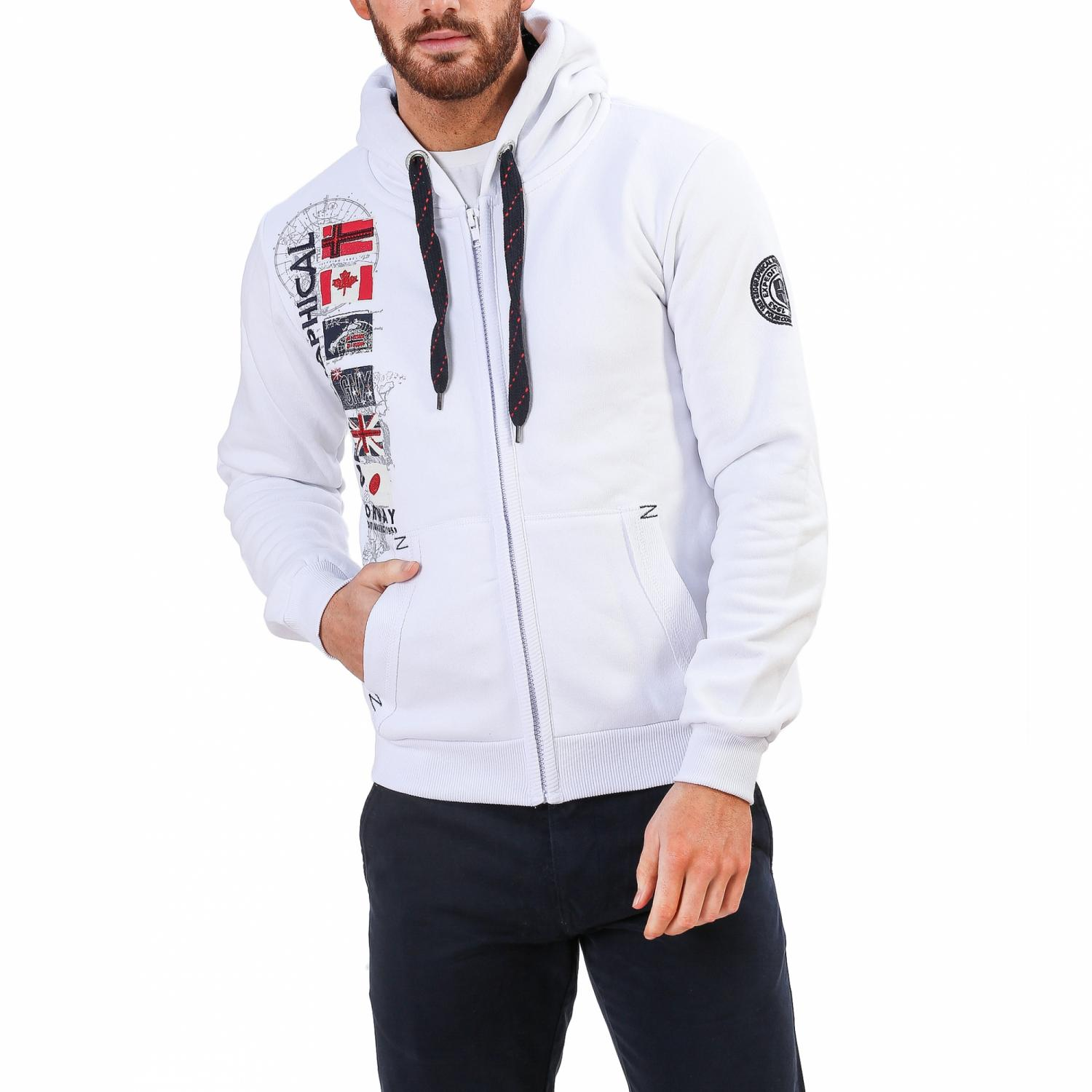 26e4be746bb Geographical Norway Ανδρικό Φουτερ | ferabati.man.white - Modabar ...