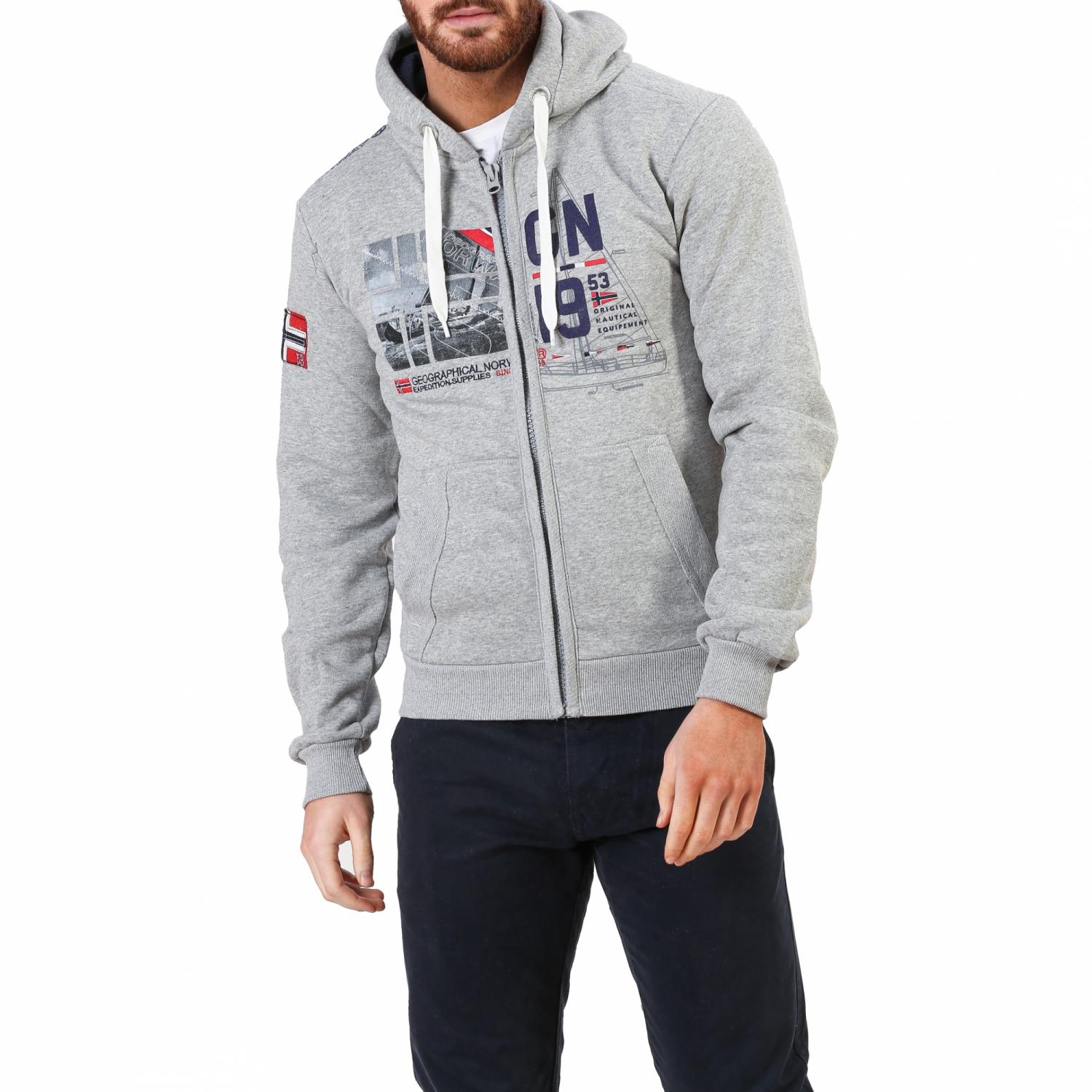Geographical Norway Суетшърт С Качулка