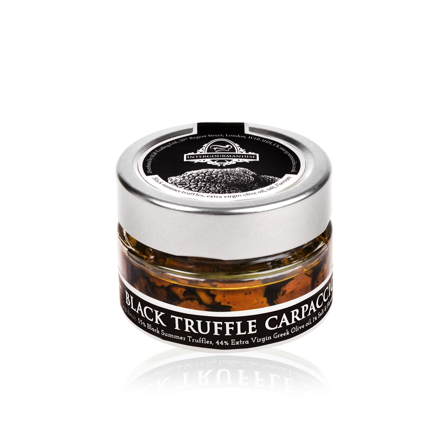 black truffle carpaccio 40 gr / 1_4 oz
