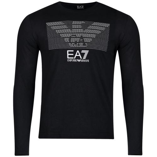 Ea7 Emporio Armani, Long Sleeve T Shirts